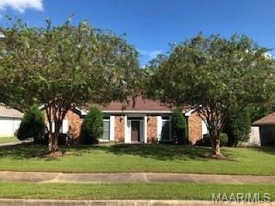 Montgomery AL Single Family Home For Sale: $150,000