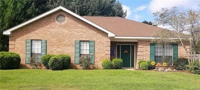 Prattville Single Family Home For Sale: 1211 Jamestown Drive