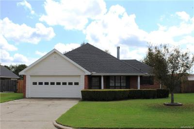 Prattville Single Family Home For Sale: 760 Summer Lane