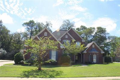 Montgomery Single Family Home For Sale: 6216 Monticello Cove