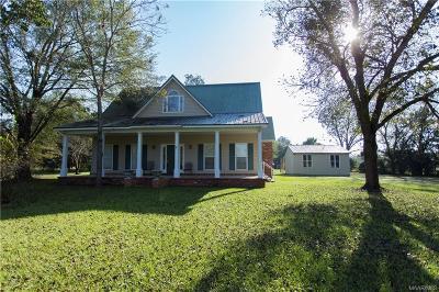Autaugaville Single Family Home For Sale: 461 S Autauga Street