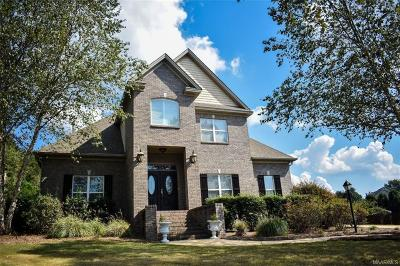 Wetumpka Single Family Home For Sale: 126 Flagstone Drive