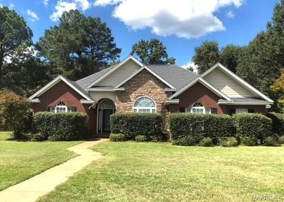 Wetumpka Single Family Home For Sale: 10 Maple Crest