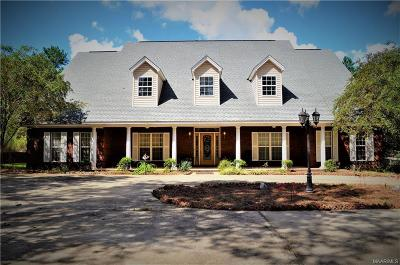 Wetumpka Single Family Home For Sale: 1239 Indian Pines Road