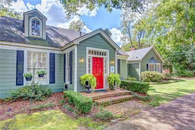 Allendale Single Family Home For Sale: 2160 Woodley Road