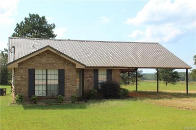 Prattville Single Family Home For Sale: 1554 County Road 43