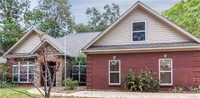 Wetumpka Single Family Home For Sale: 240 Jasmine Ridge Road