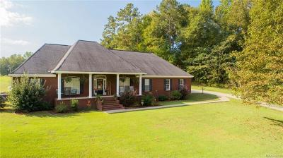 Deatsville Single Family Home For Sale: 415 Shady Nook Drive