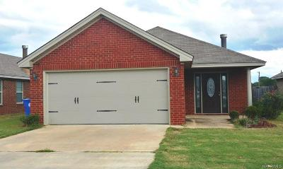 Prattville Single Family Home For Sale: 1818 Cotton Blossom Way