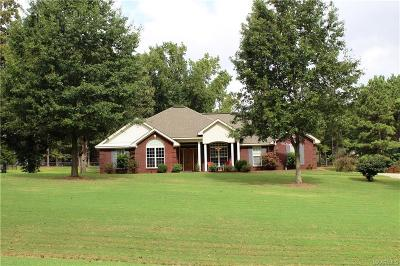Wetumpka Single Family Home For Sale: 5345 Redland Road