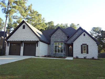 Wetumpka Single Family Home For Sale: 140 N Dogwood Terrace