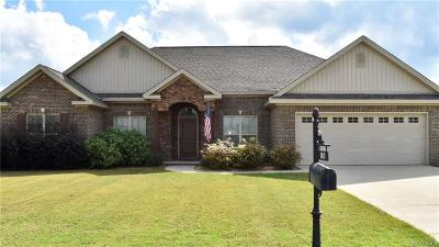 Prattville Single Family Home For Sale: 103 Crenshaw Court