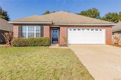 Prattville AL Single Family Home For Sale: $174,000