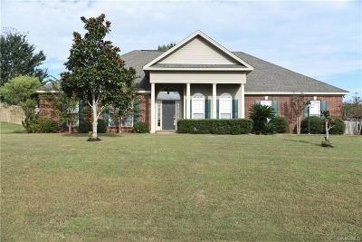 Wetumpka Single Family Home For Sale: 119 Limestone Lane