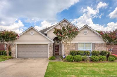 Montgomery Single Family Home For Sale: 3842 Claiborne Circle
