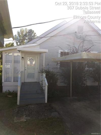 Tallassee Single Family Home For Sale: 307 S Dubois Street