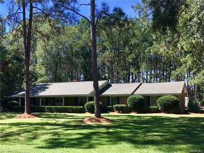Millbrook Single Family Home For Sale: 2871 Pine Acres Street