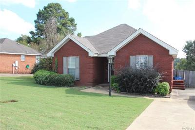 Prattville Single Family Home For Sale: 1789 Edinburgh Street