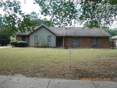 Montgomery Single Family Home For Sale: 3936 Ray Drive
