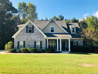 Wetumpka Single Family Home For Sale: 120 Southern Hollow Court