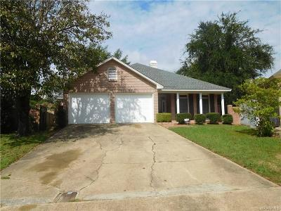 Montgomery Single Family Home For Sale: 3612 Summerhill Court