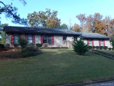 Prattville Single Family Home For Sale: 617 Marlyn Drive