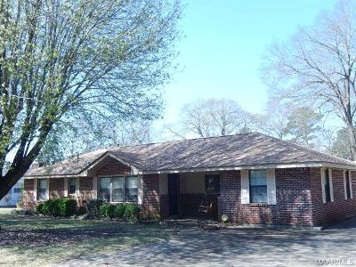 Prattville Single Family Home For Sale: 724 Deramus Street