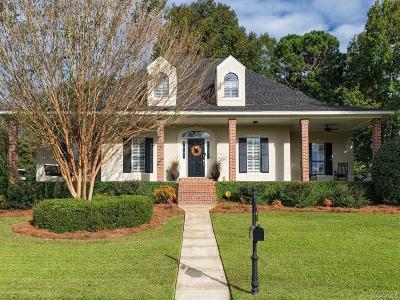 Prattville Single Family Home For Sale: 215 Doe Drive