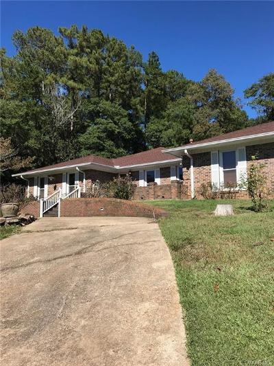Prattville Single Family Home For Sale: 208 Deer Trace