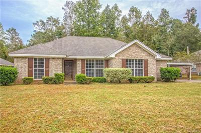 Wetumpka Single Family Home For Sale: 244 Eagle Creek Drive