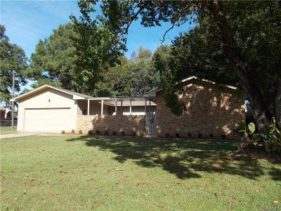 Wetumpka Single Family Home For Sale: 206 James Street