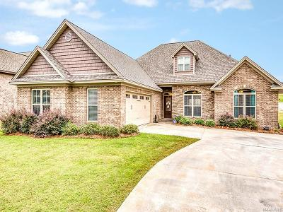 Prattville Single Family Home For Sale: 507 Weatherby Trail
