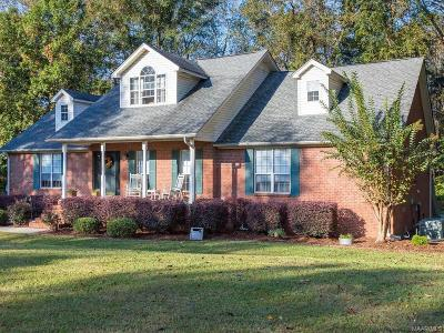 Prattville Single Family Home For Sale: 1053 Old Ridge Road E