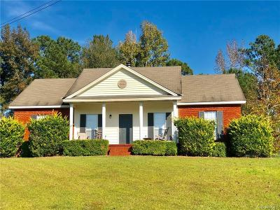 Wetumpka Single Family Home For Sale: 110 Spring Hill Court