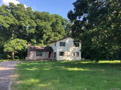 Selma Single Family Home For Sale: 598 County Rd 81 Road