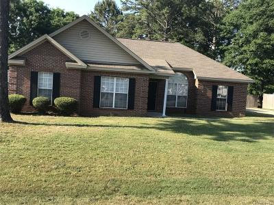 Wetumpka Single Family Home For Sale: 51 Woodhaven Trail