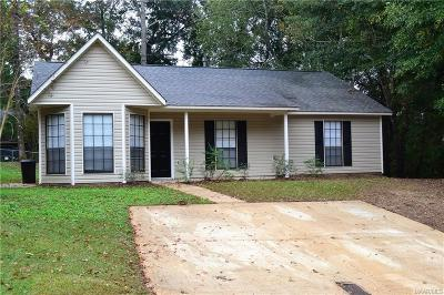 Prattville Single Family Home For Sale: 245 Gardenia Court