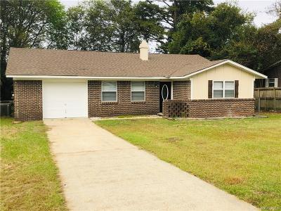 Prattville Single Family Home For Sale: 107 Griffith Avenue