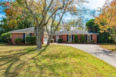 Vaughn Meadows Single Family Home For Sale: 2412 Sedgefield Lane