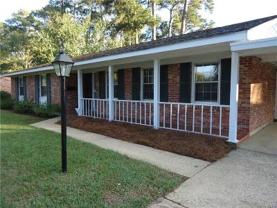 Montgomery Single Family Home For Sale: 3854 Marie Cook Drive