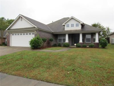 Montgomery Single Family Home For Sale: 3524 Claiborne Circle