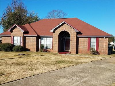Montgomery AL Single Family Home For Sale: $131,900
