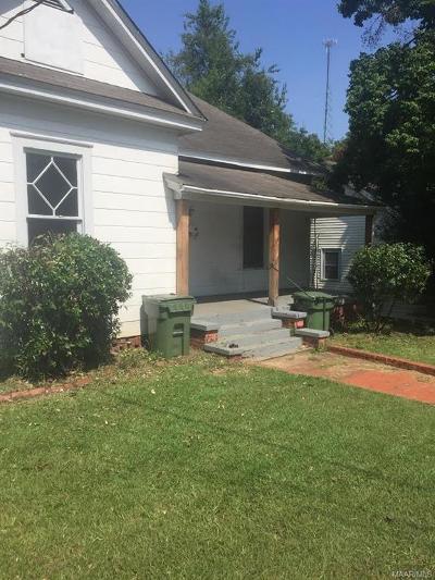 Montgomery AL Single Family Home For Sale: $75,500