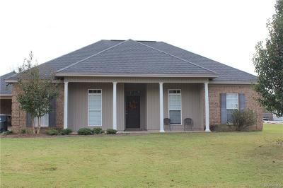 Tallassee Single Family Home For Sale: 19 Indian Lane
