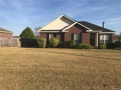 Montgomery AL Single Family Home For Sale: $149,900