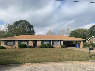 Prattville Single Family Home For Sale: 1267 Huie Street