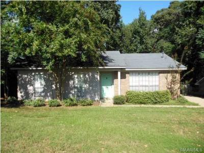 Montgomery Single Family Home For Sale: 3253 Hillcrest Lane