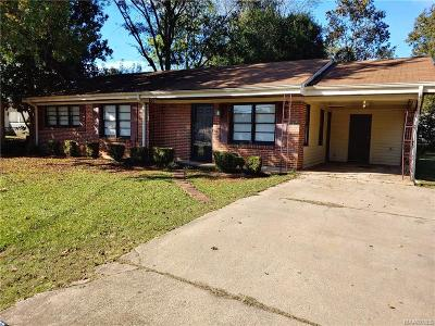 Prattville Single Family Home For Sale: 1111 Wright Street
