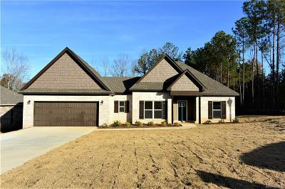 Wetumpka Single Family Home For Sale: 203 Mulder Cove Lane