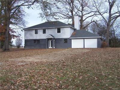 Titus Single Family Home For Sale: 5890 Titus Road